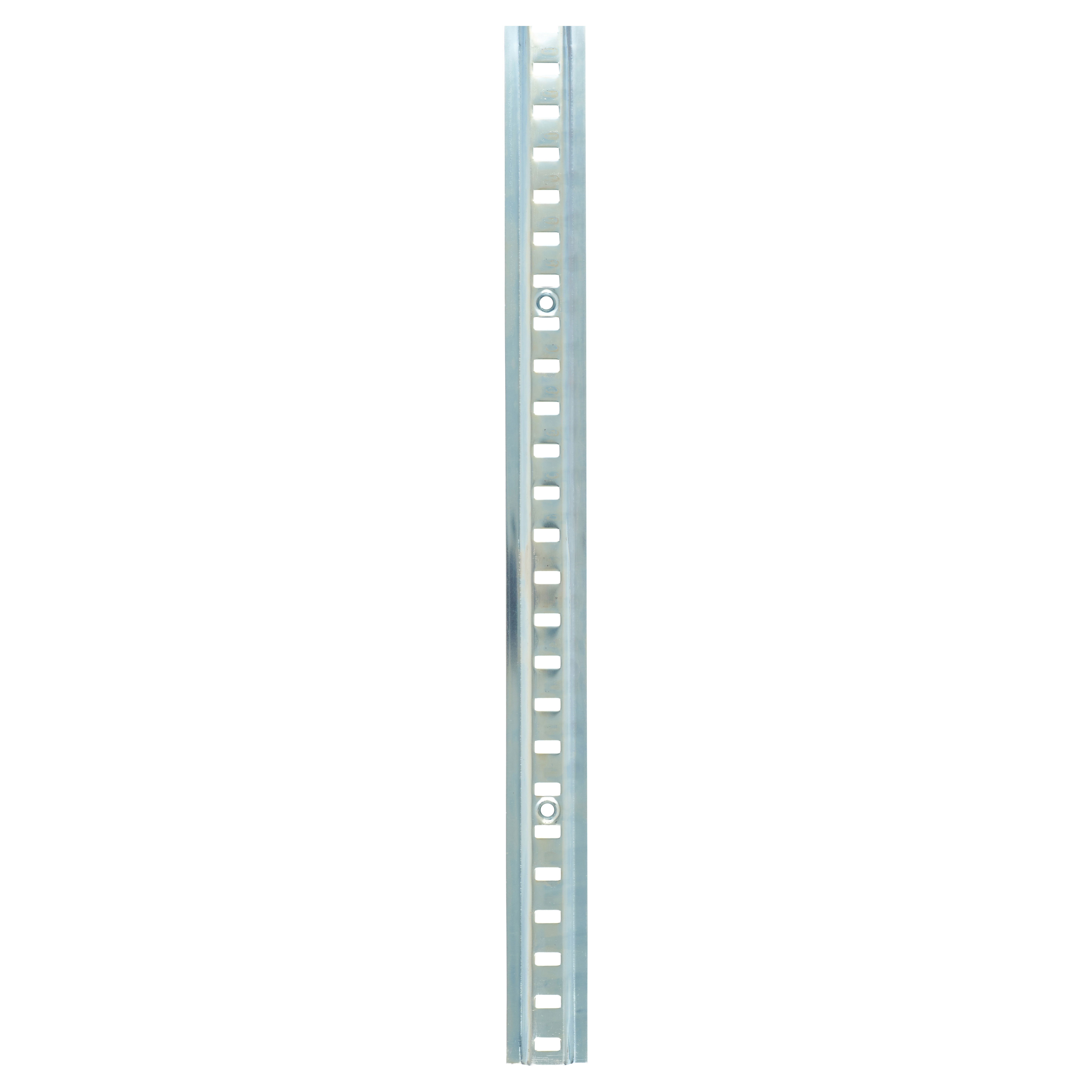 ION Raised Bookcase Strip - 1829 x 24mm - Bright Zinc Plated)