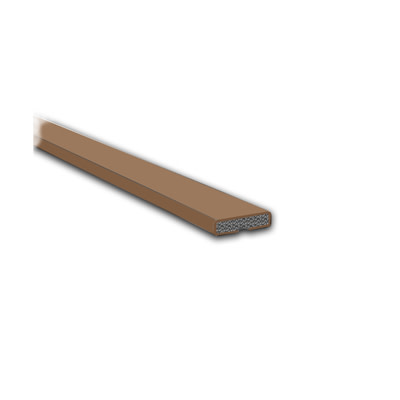 Fire Only Intumescent Strip - 10 x 4 x 2100mm - Plain - Brown - Pack 10)