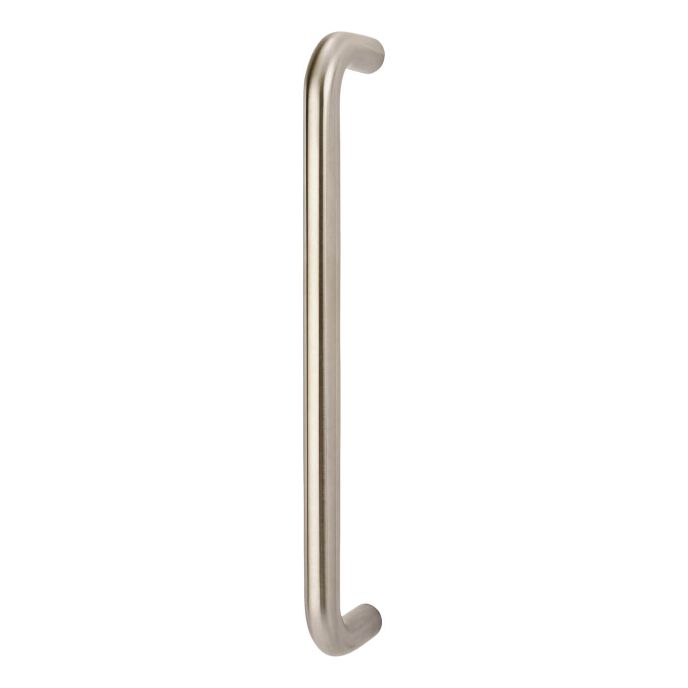 Altro 19mm D Bolt Fix Pull Handle - 305mm Centres - Satin Stainless Steel)