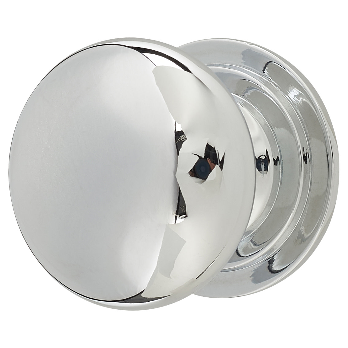 Touchpoint Victorian Turned Cabinet Knob - 32mm - Polished Chrome)