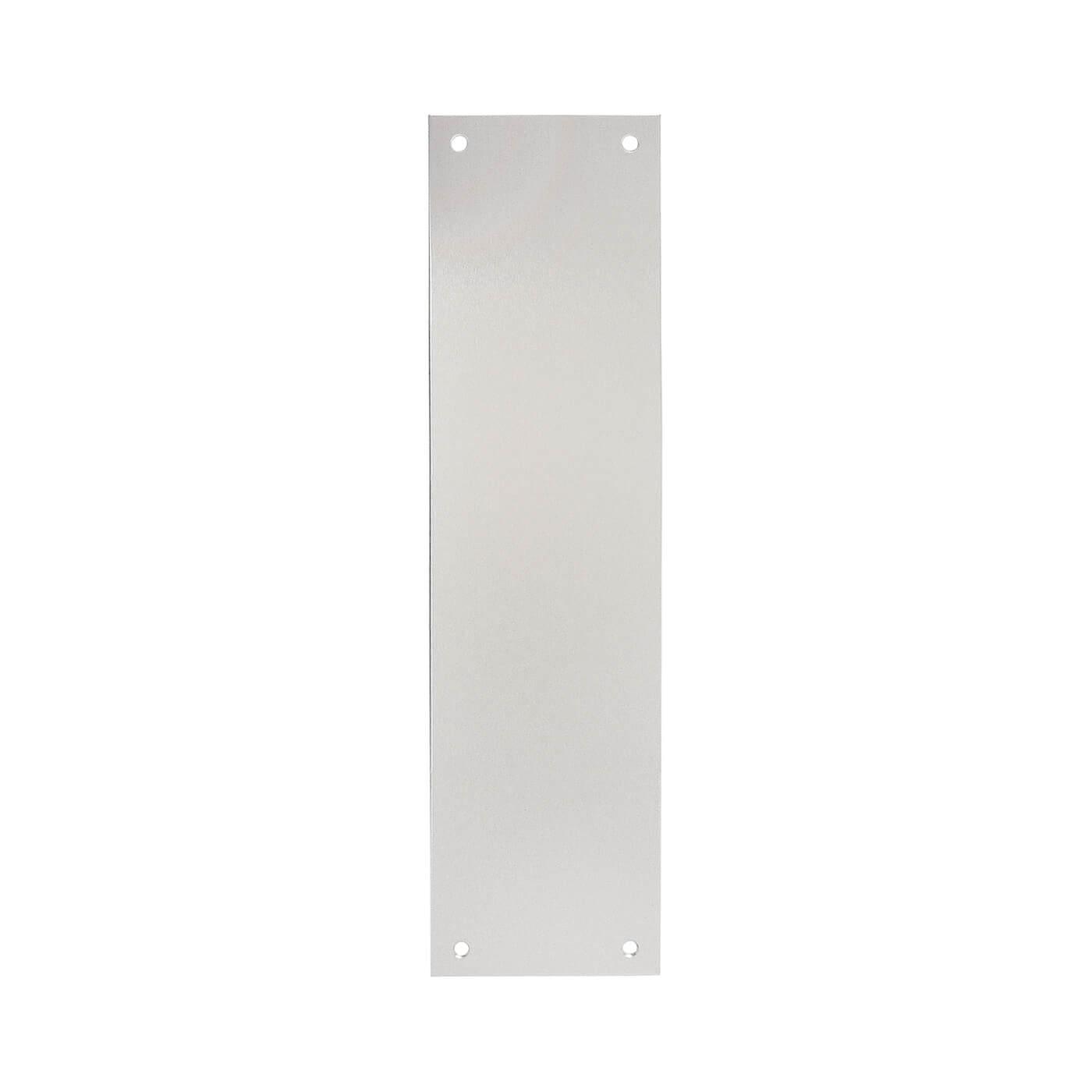 Project Plain Finger Plate - 300 x 75 x 1.5mm - Aluminium)