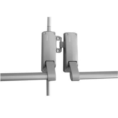 Briton 377 E Rebated Double Door Panic Bar Set)