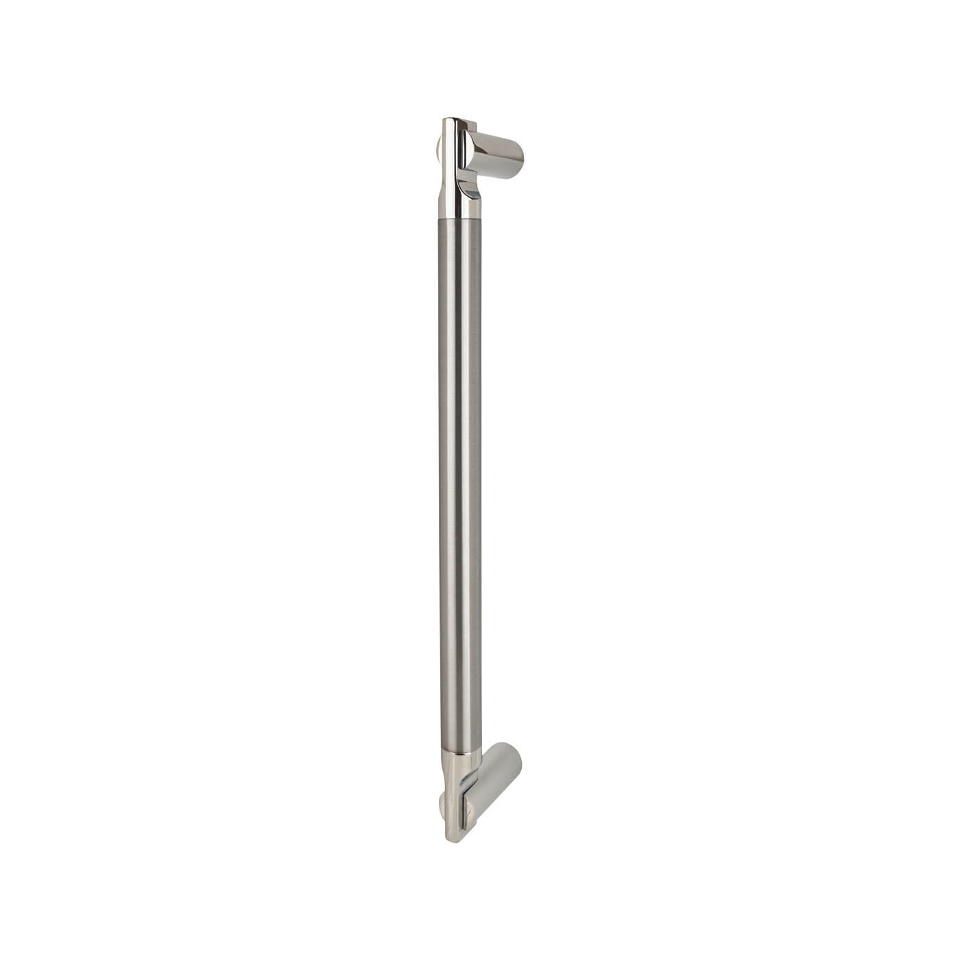 Serozzetta Azul Pull Handle 332 x 19mm - Polished Chrome /Satin Nickel)