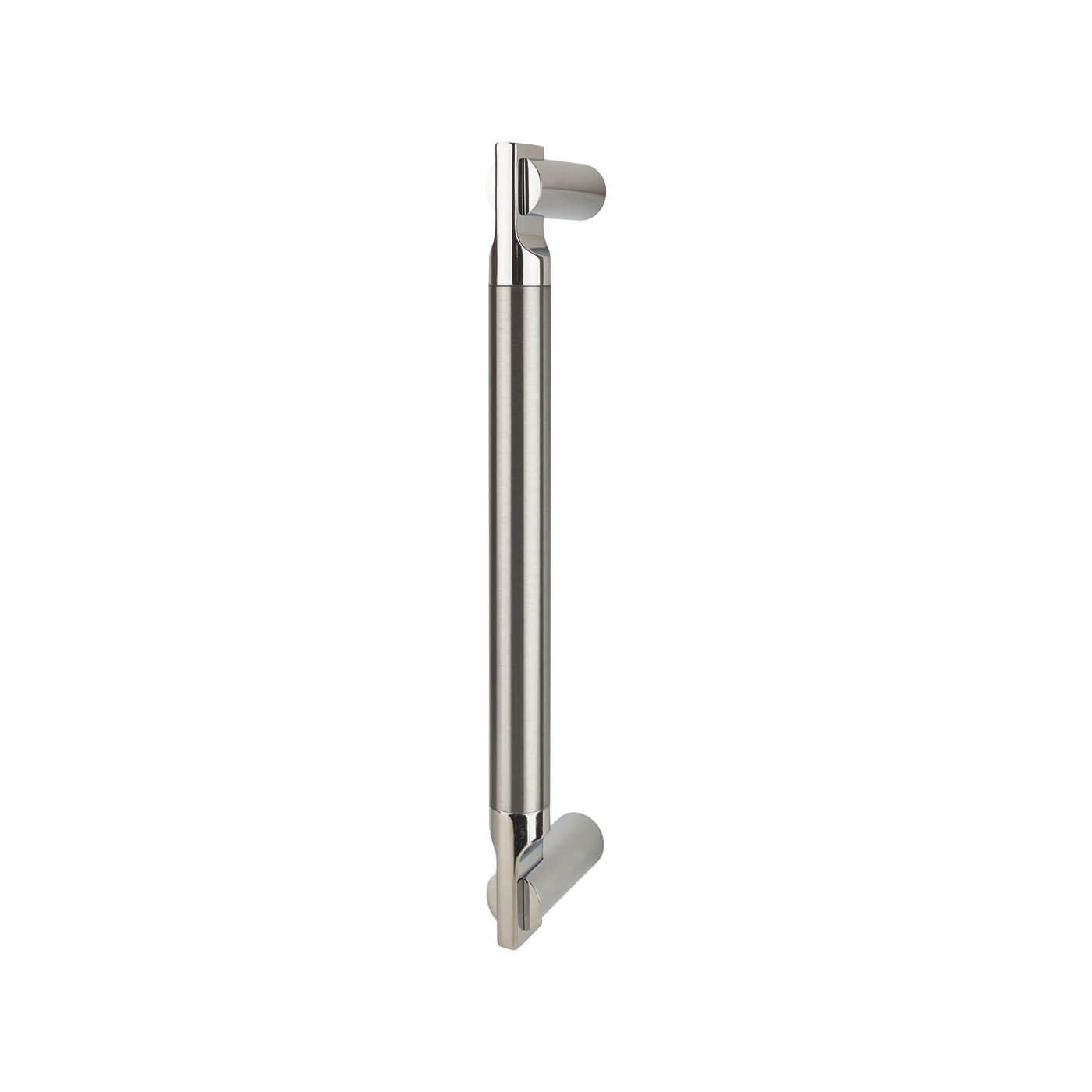 Serozzetta Azul Pull Handle 252 x 19mm - Polished Chrome /Satin Nickel)