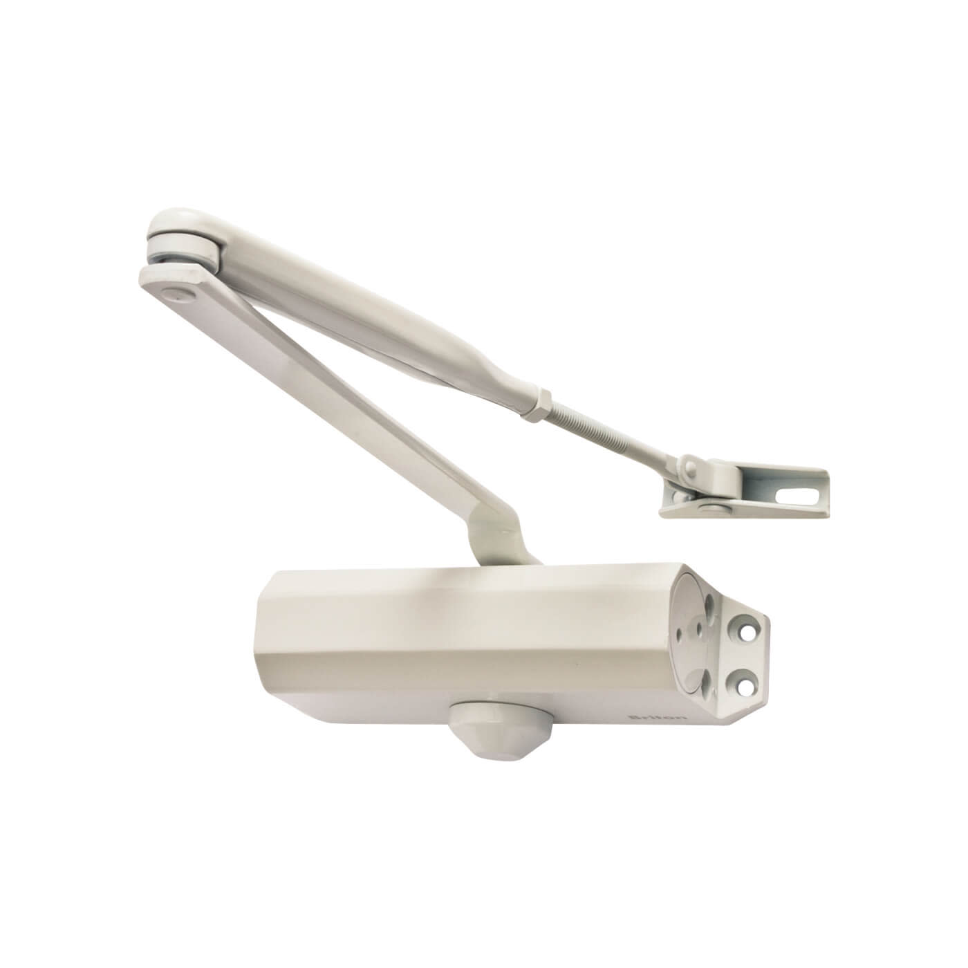 Briton 121CE Door Closer - White)