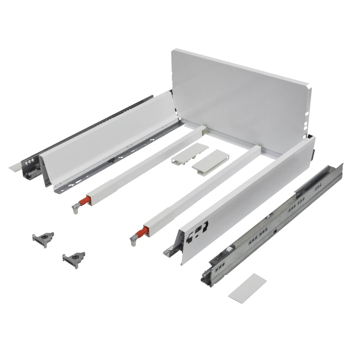 Blum TANDEMBOX ANTARO Pan Drawer - BLUMOTION Soft Close - (H) 203mm x (D) 350mm x (W) 300mm - White)