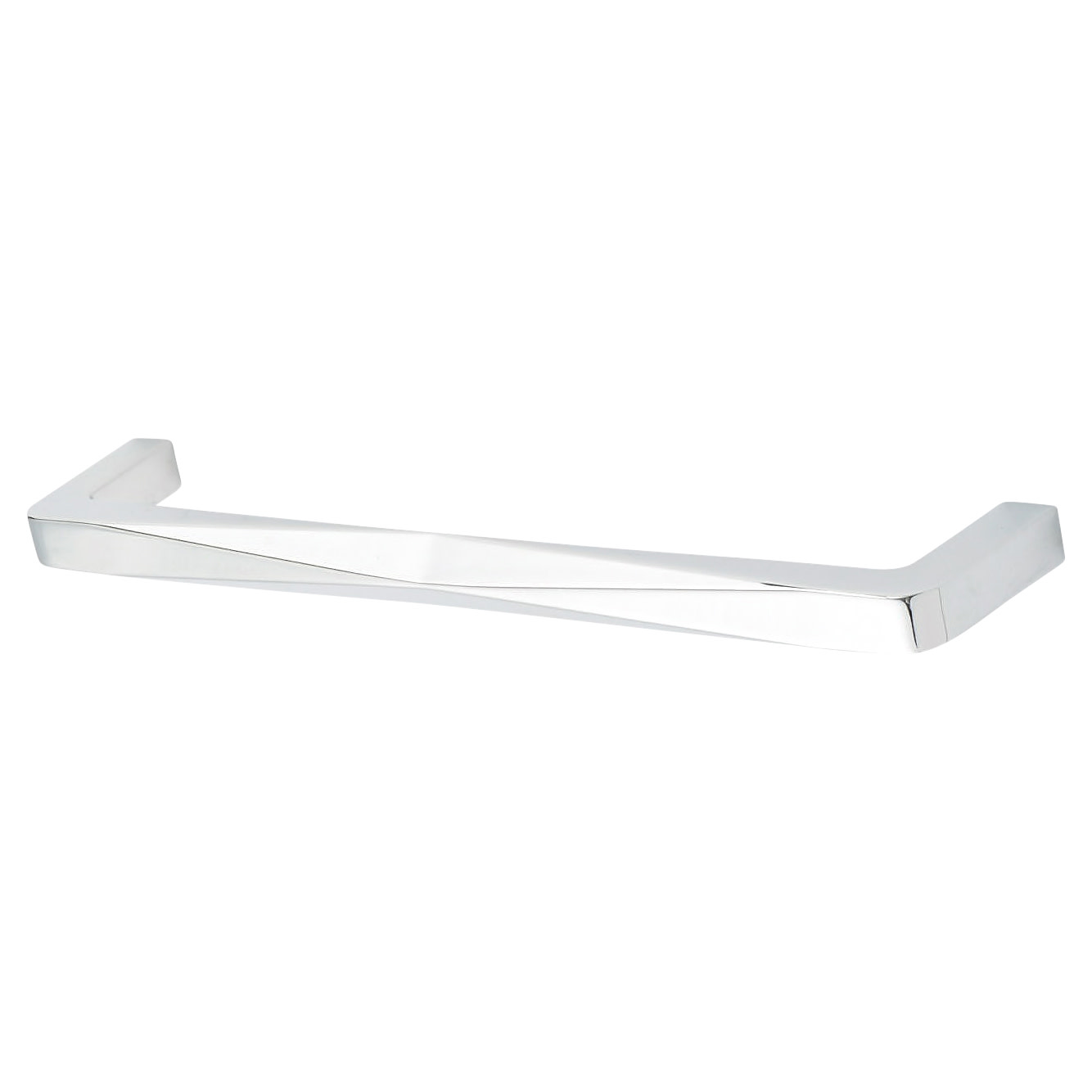 Alnwick Cabinet Pull Handle - 160mm Centres - Chrome)