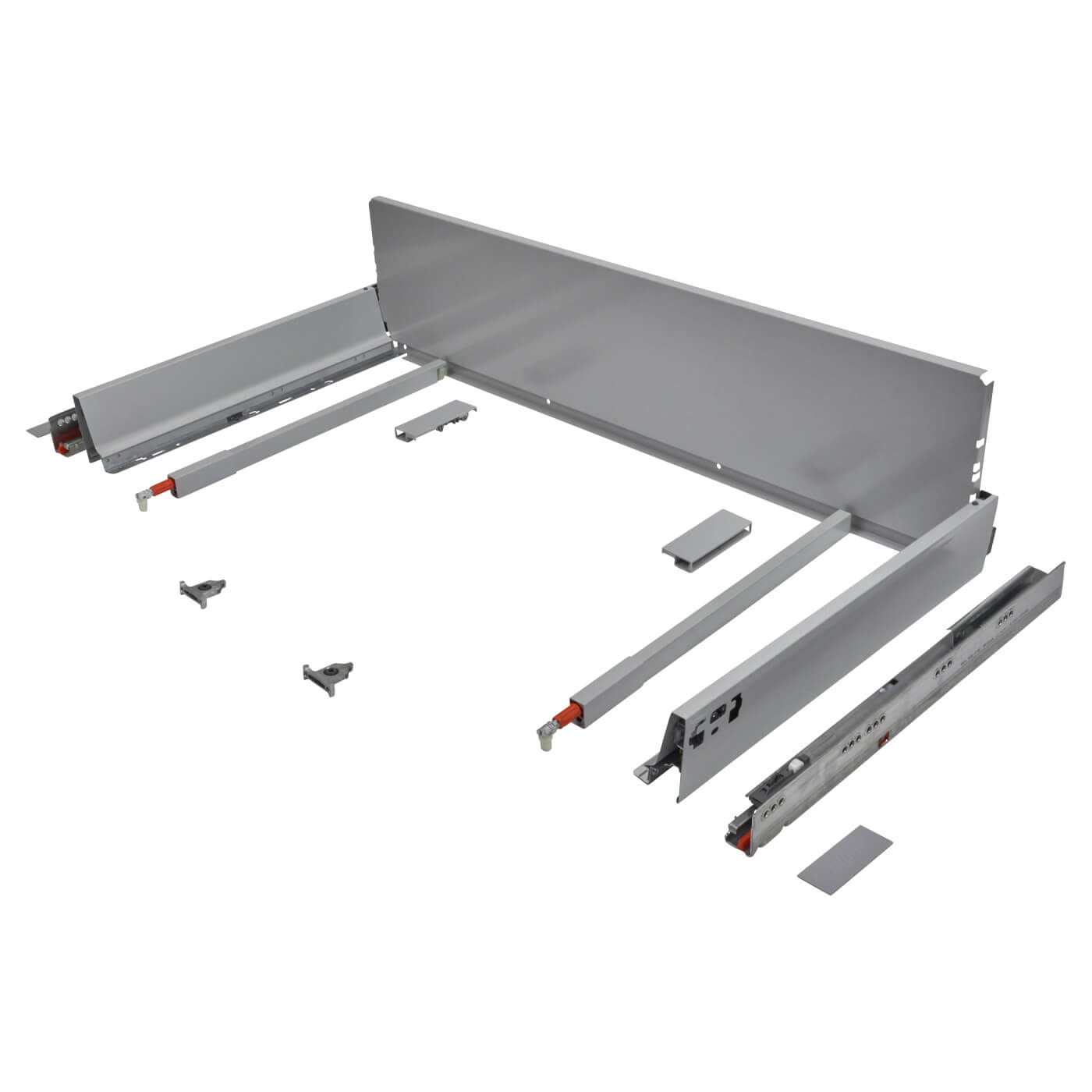 Blum TANDEMBOX ANTARO Pan Drawer - BLUMOTION Soft Close - (H) 203mm x (D) 270mm x (W) 1000mm - Grey)