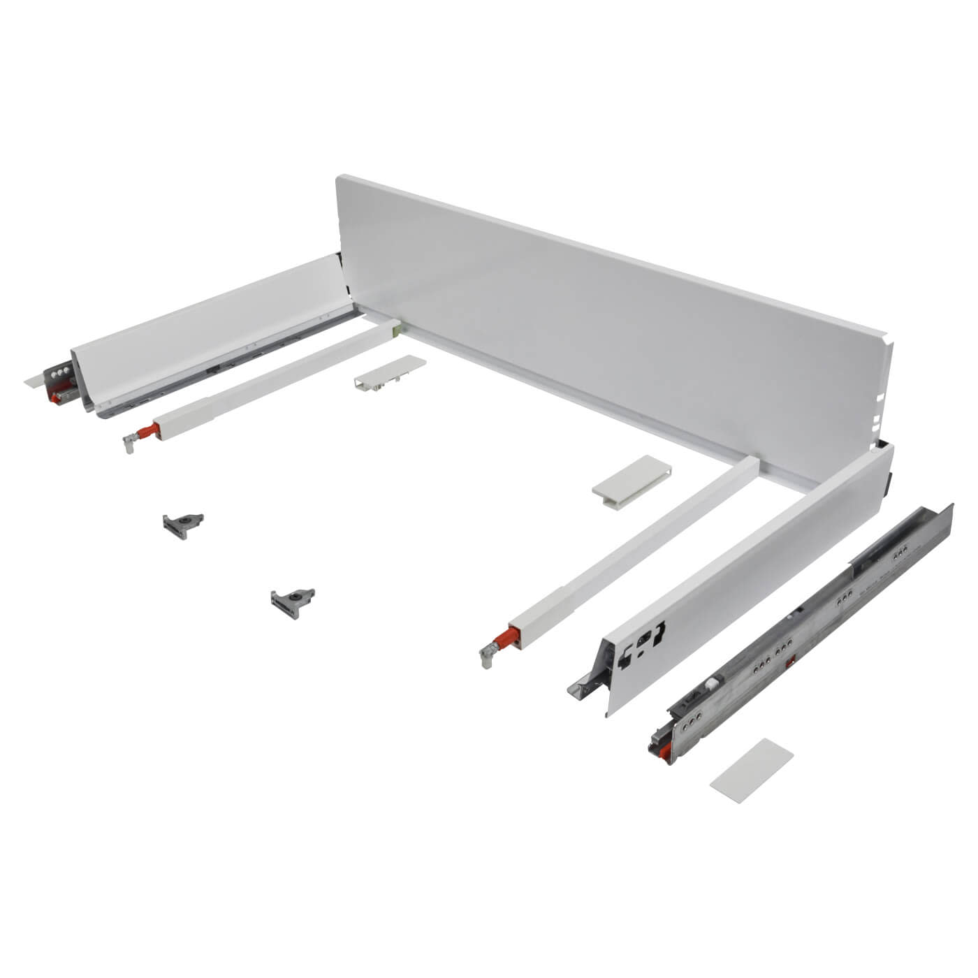 Blum TANDEMBOX ANTARO Pan Drawer - BLUMOTION Soft Close - (H) 203mm x (D) 350mm x (W) 1200mm - Whit)