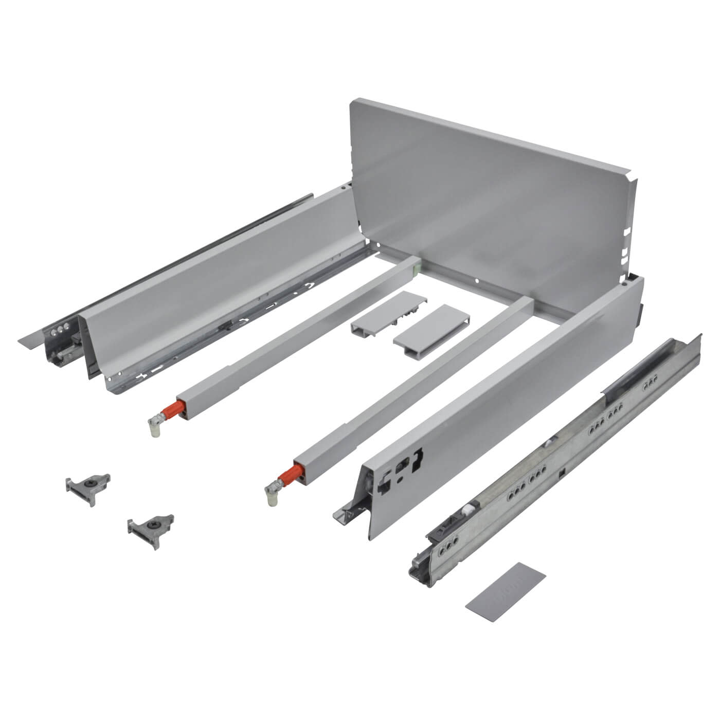 Blum TANDEMBOX ANTARO Pan Drawer - BLUMOTION Soft Close - (H) 203mm x (D) 350mm x (W) 450mm - Grey)