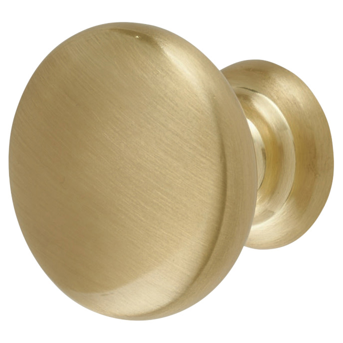 Crofts & Assinder Monmouth Cabinet Knob - 38mm - Brushed Satin Brass)