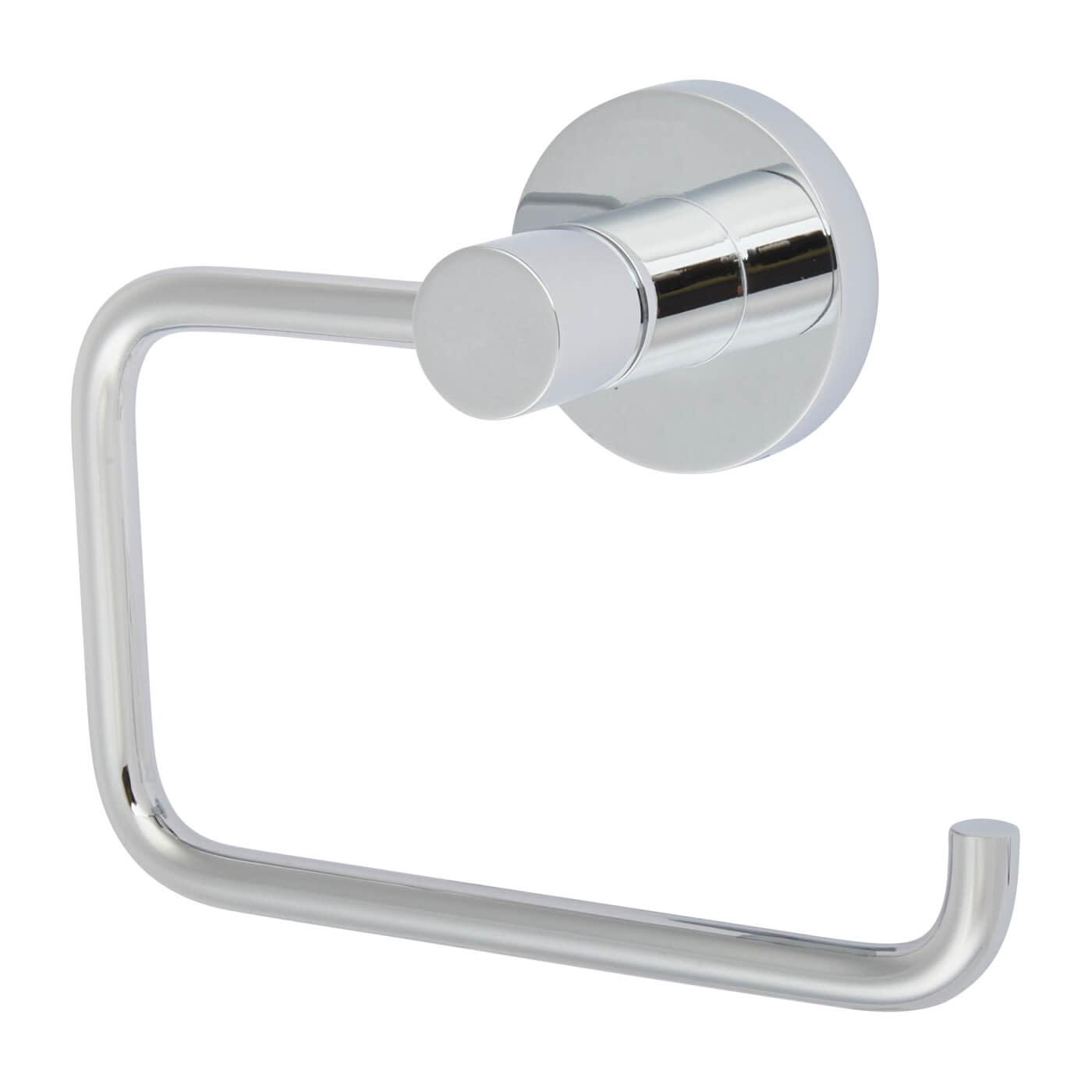 Nymas Style Hook Toilet Roll Holder - Polished Chrome)