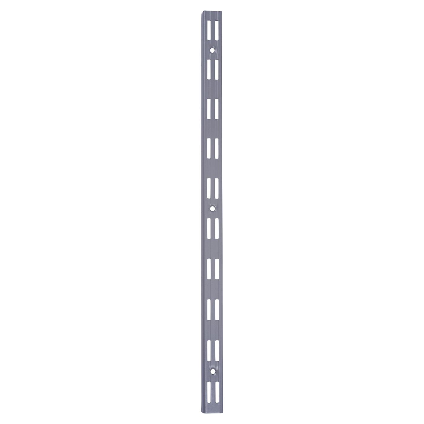 Aspect Twin Slot Upright - 500mm - Silver)