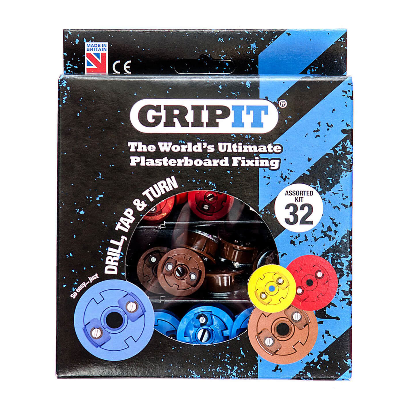 Grip It® Assortment Pack)