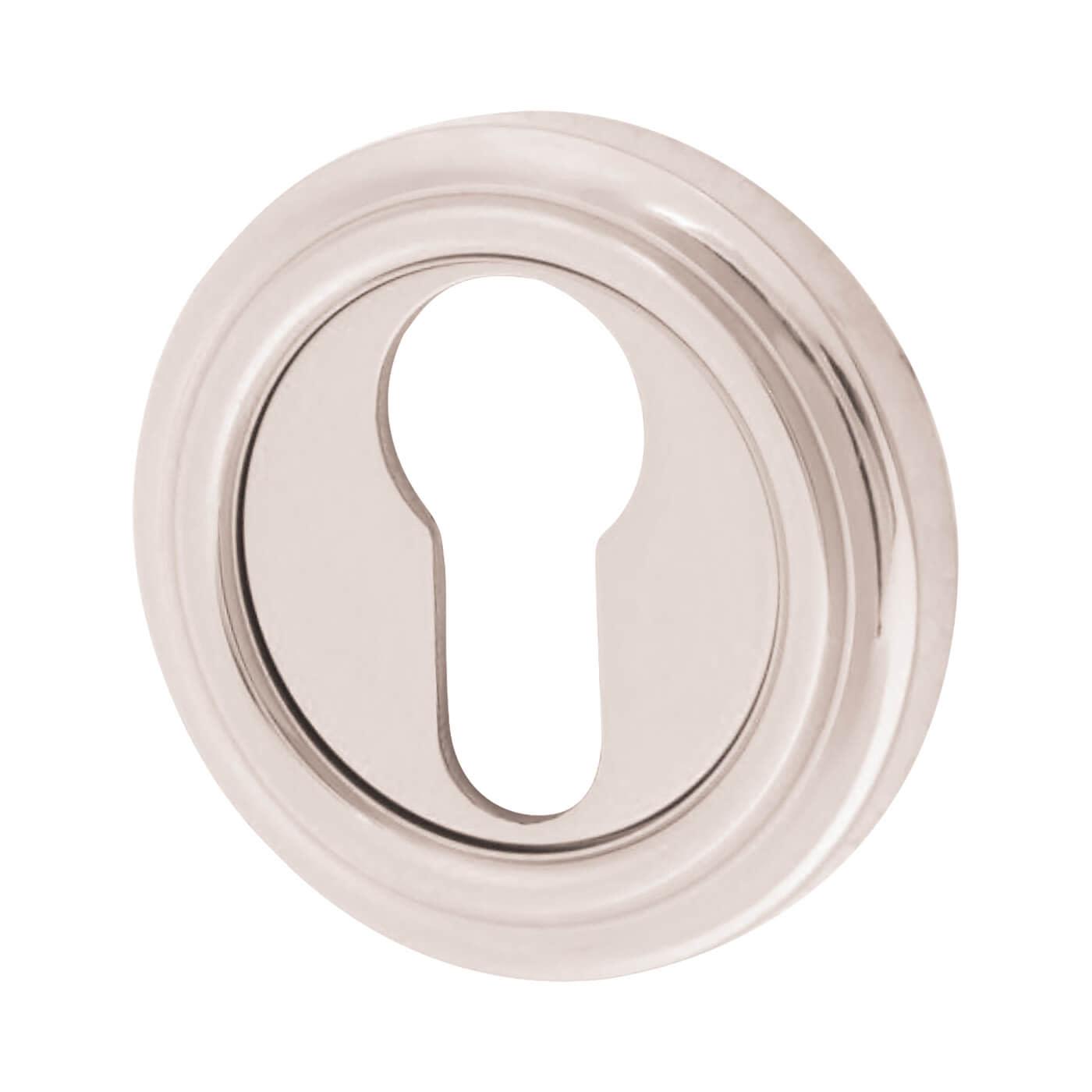 Euro Escutcheon - Polished Nickel)