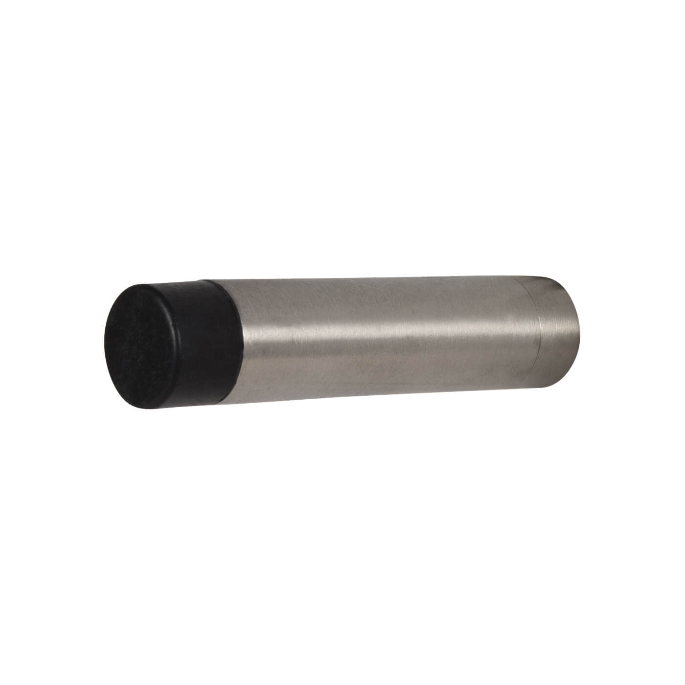 Cylinder Pattern Projection Door Stop - 70mm - Satin Stainless Steel)