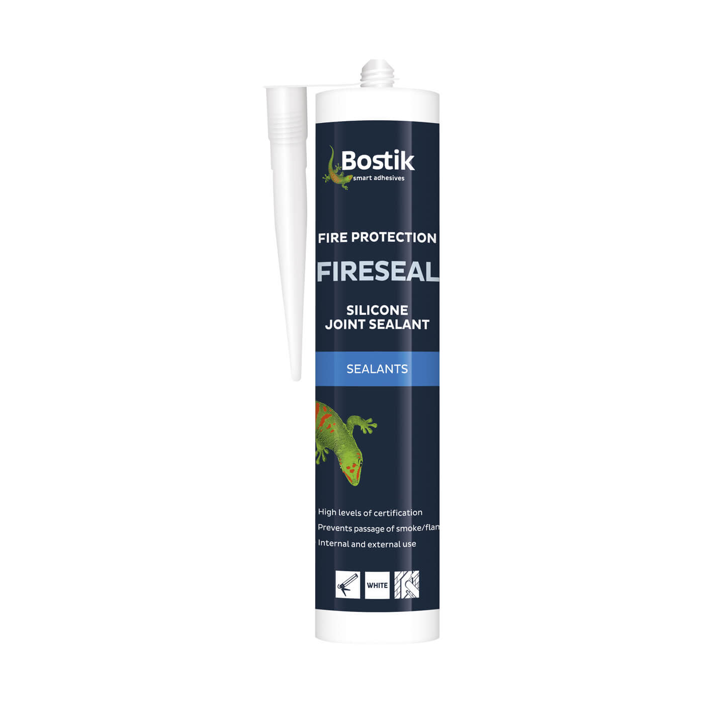 Bostik Fireseal Silicone Joint Sealant - 310ml)