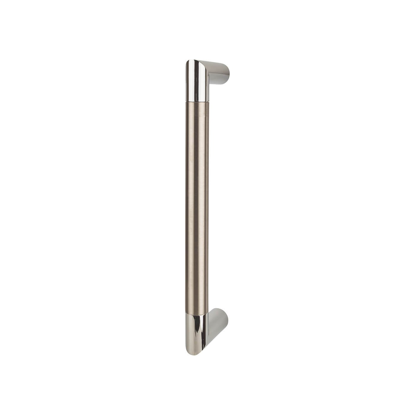 Serrozetta Trend Pull Handle - 245 x 19mm - Polished Chrome / Satin Nickel)
