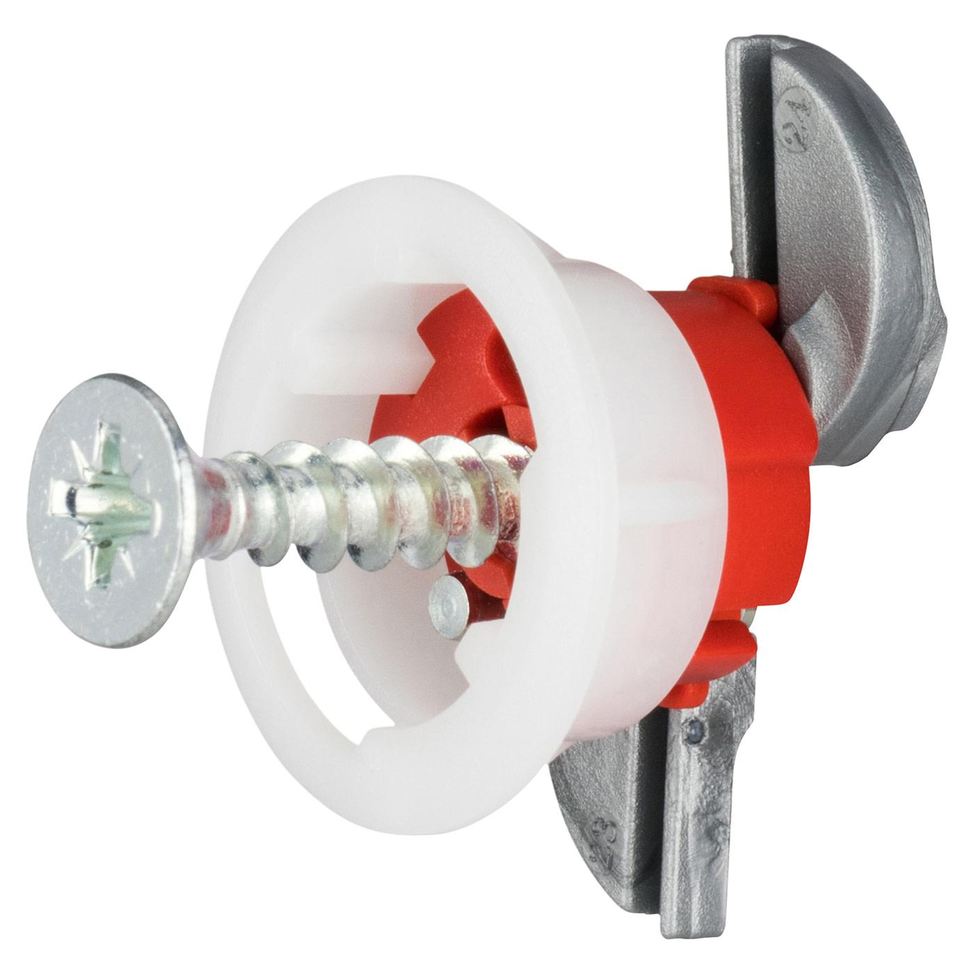 Grip It® Fixing - 18mm Hole - 5.0 x 30mm Screw - Pack 4)