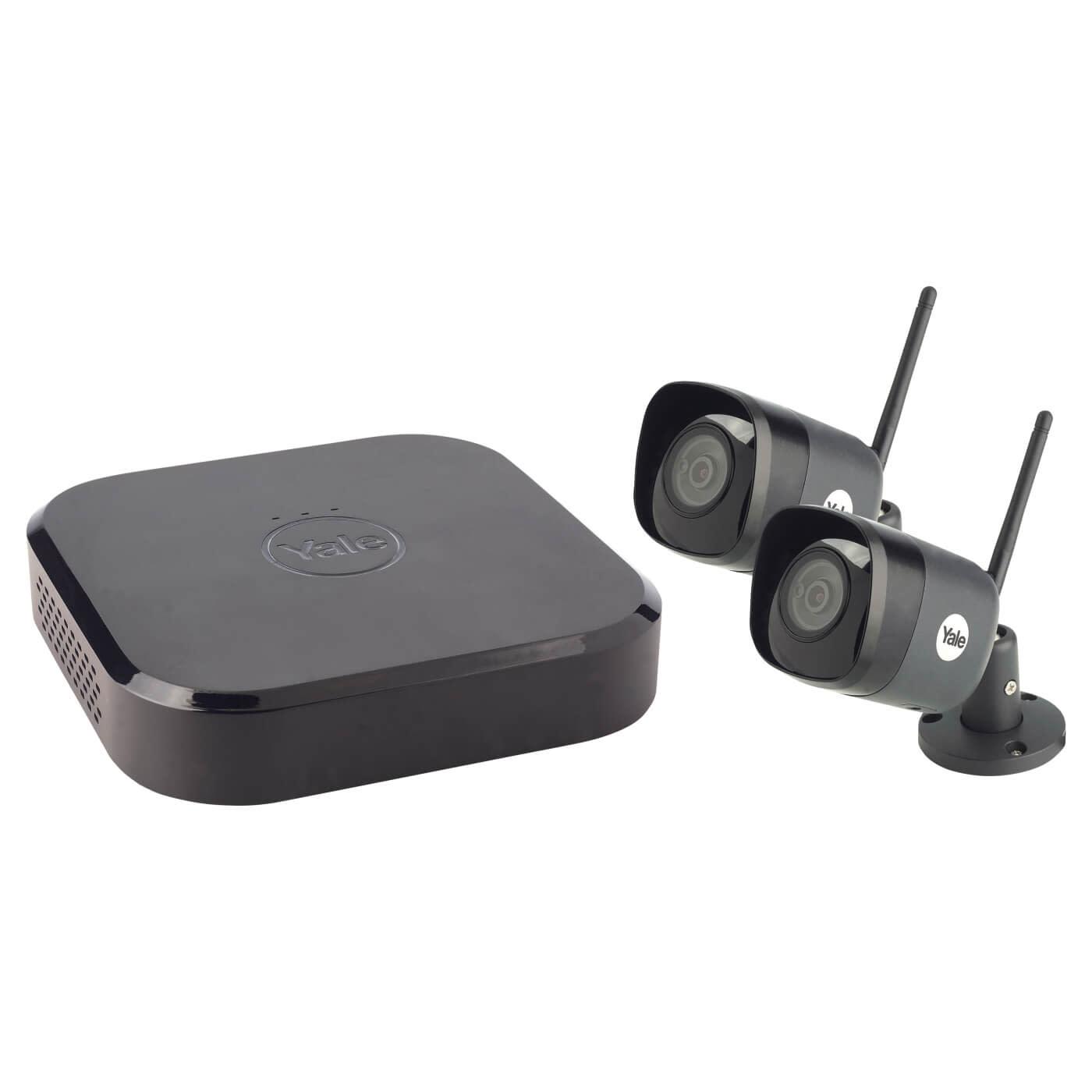 Yale Smart Home CCTV Wi-Fi Camera - 4MP - 2 Cameras)