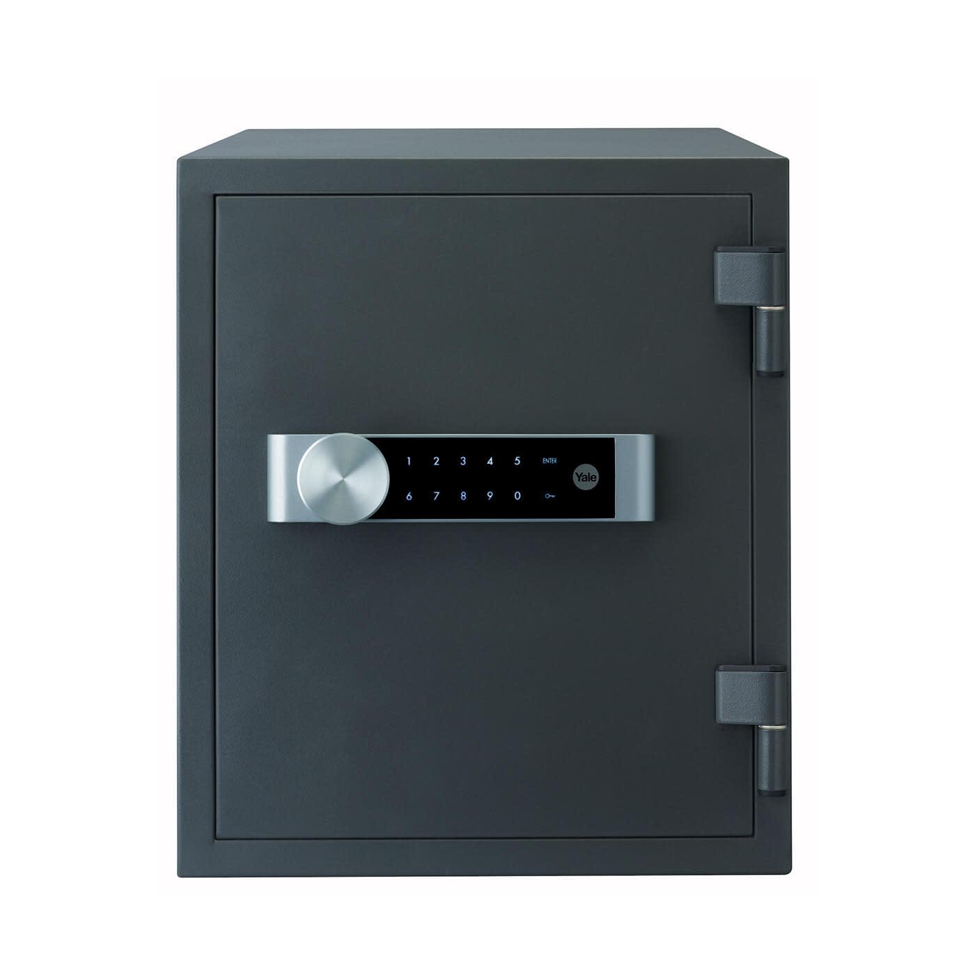 Yale Large Fire Safe - 420 x 352 x 433mm - Grey)
