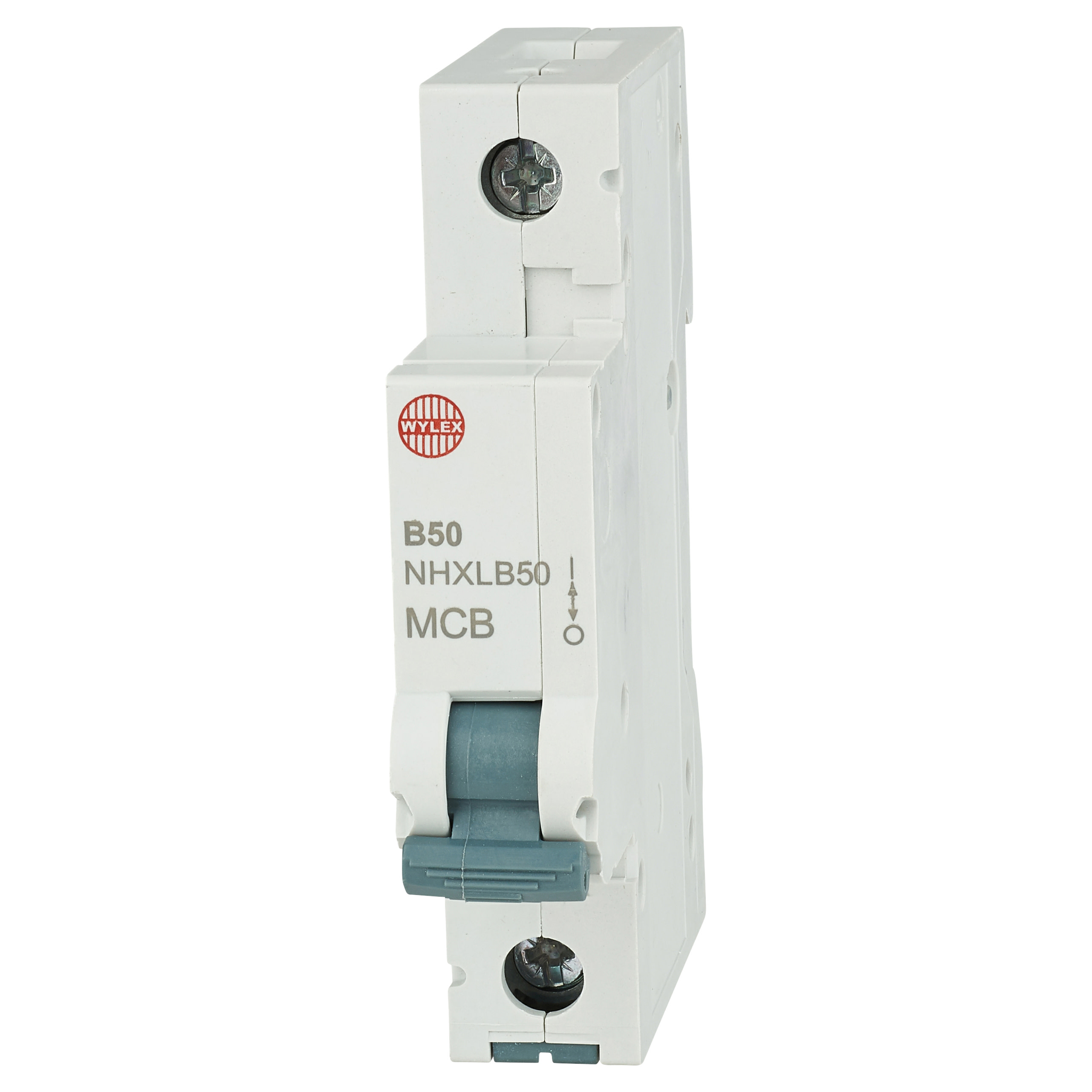 Wylex 50A NH Single Pole MCB - Type B)