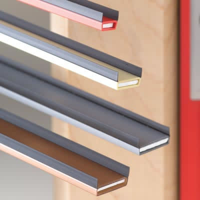 DS Acoustic Fire & Smoke Intumescent Strip - 15 x 4 x 2100mm - Dark Brown - Pack 5)
