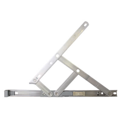 Securistyle Restrictor Friction Hinge - uPVC/Timber - 400mm - Top Hung - Pair)