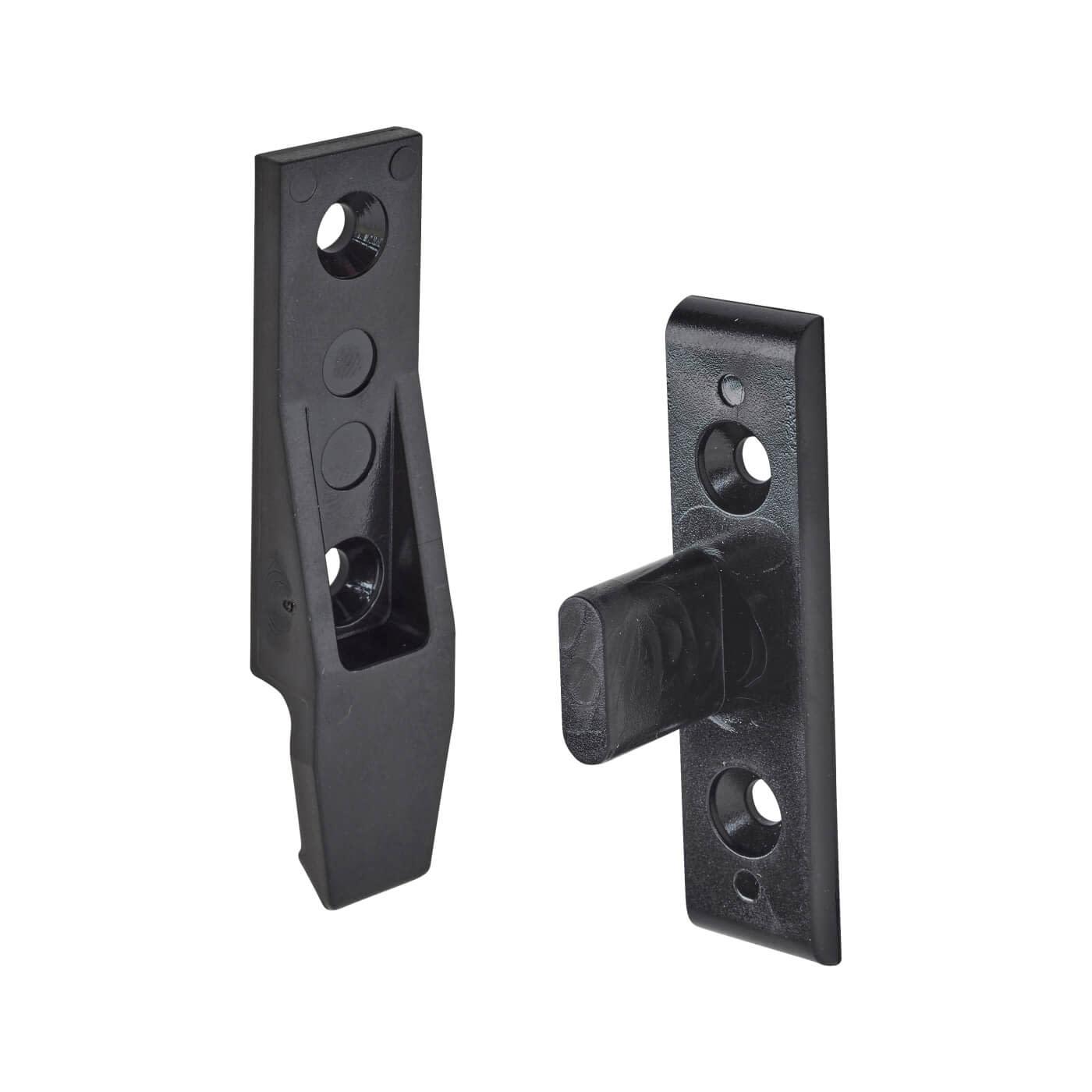 Keku Drop-on Clip - Frame and Panel Pack - Black - Pack 10)