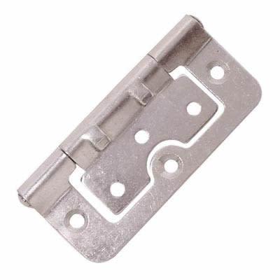 Hurlinge Hinge - 100 x 60 x 2mm - Zinc Plated - Pair)