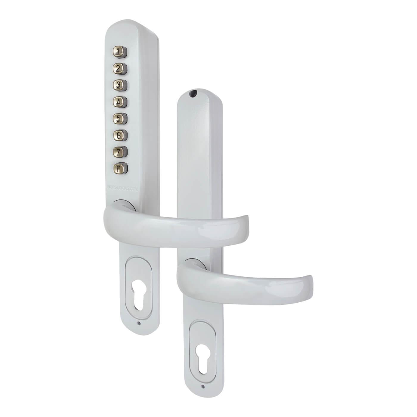Borg BL6100 Code Lock for Multipoint locks - White)
