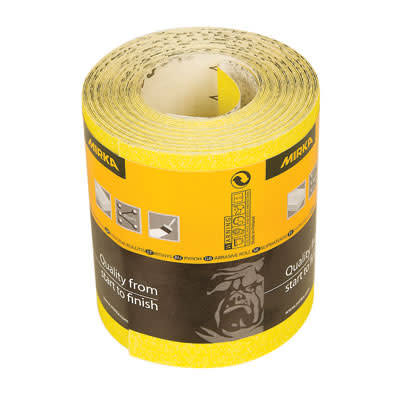 Mirka Hiomant Roll - 115mm x 10m - Grit 80)