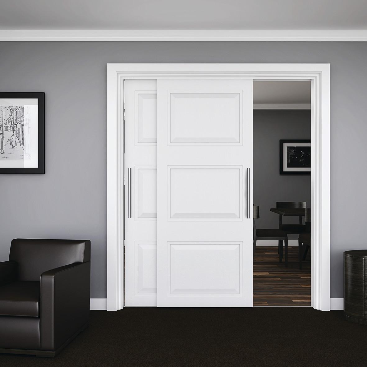 KLÜG Double Wardrobe Top Sliding Door Fitting Pack - 45kg)