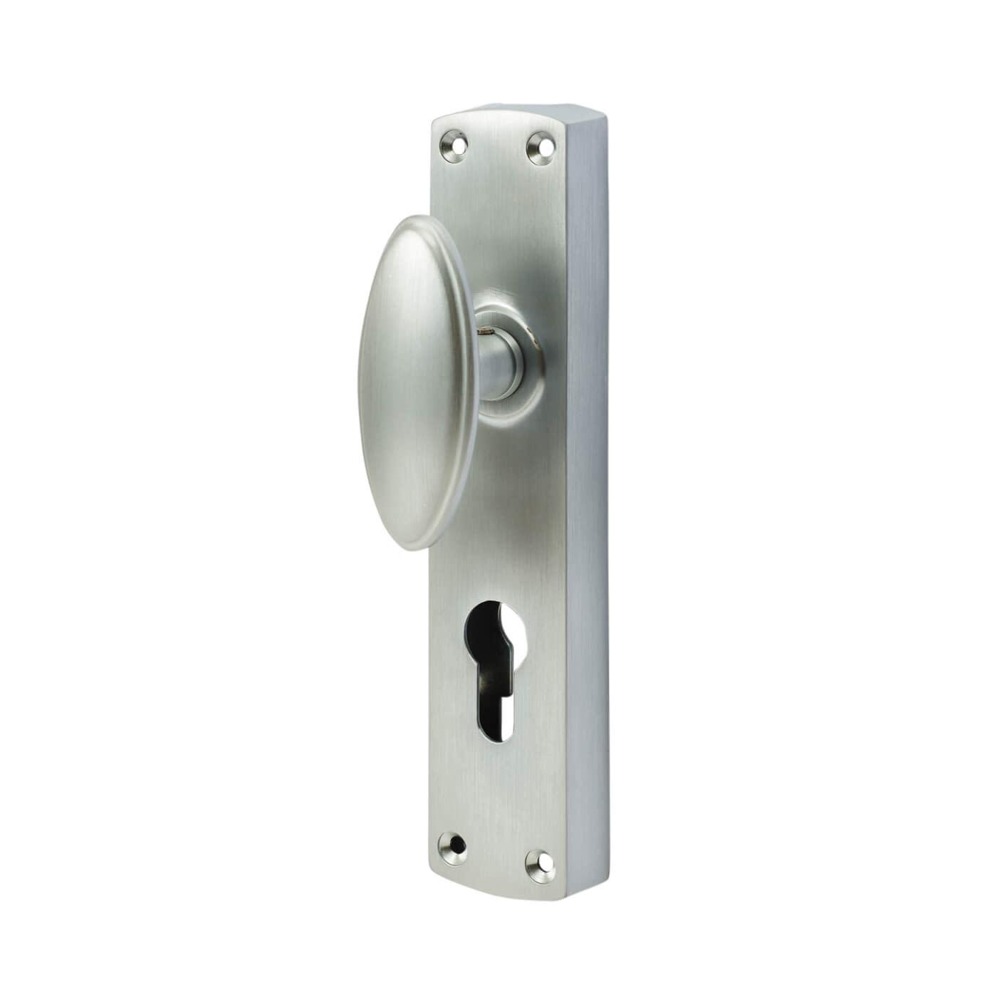 Jedo European Style Locking Espagnolette Bolt - Satin Chrome)