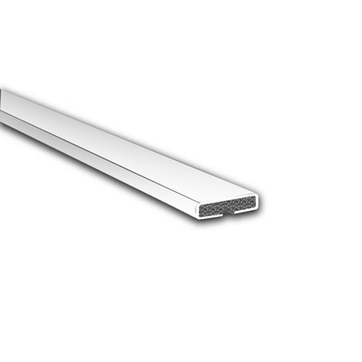 Fire Only Intumescent Strip - 15 x 4 x 2100mm - Plain - White - Pack 75)