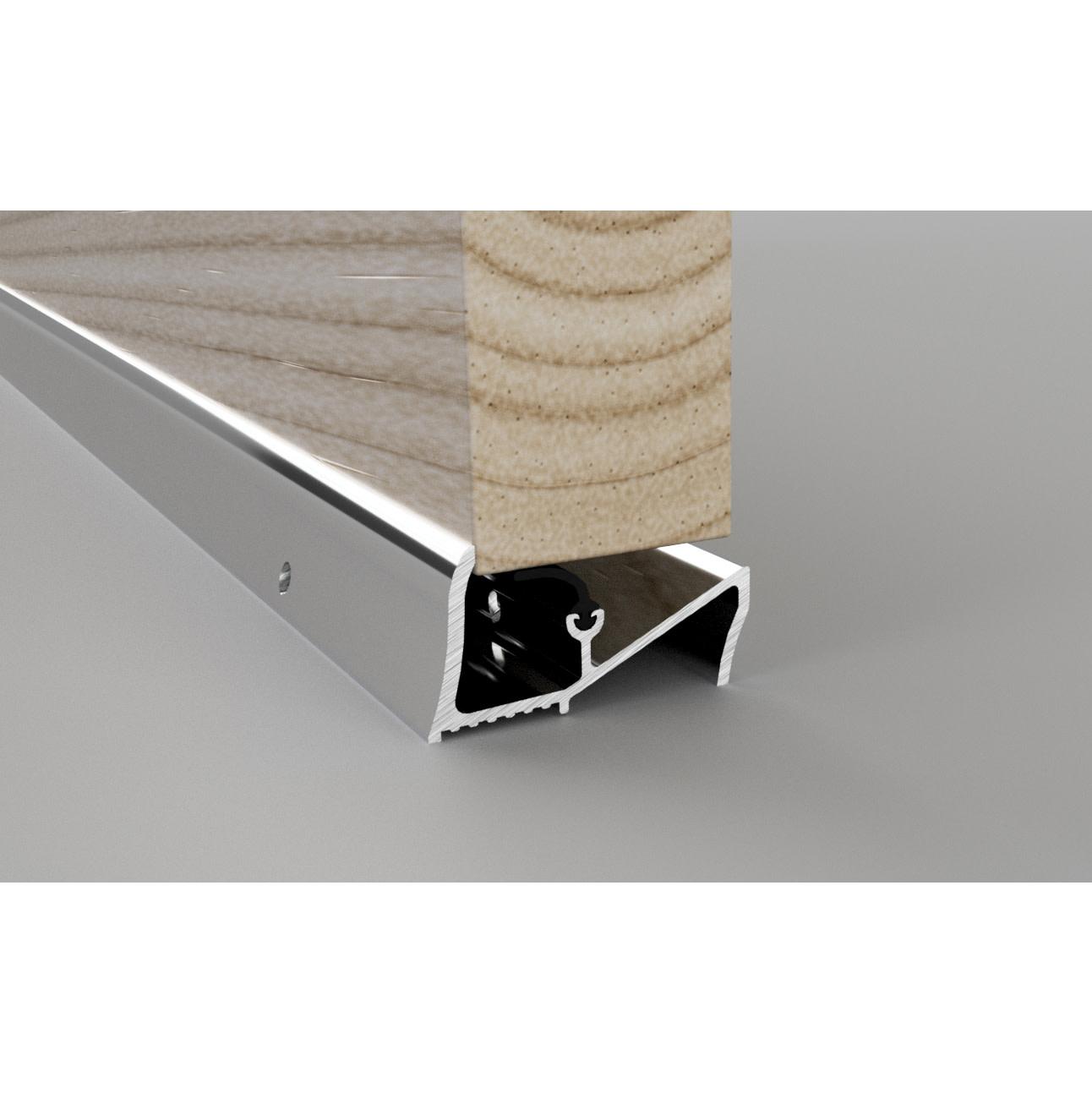 Stormguard Lowline Threshold - 2000mm - Silver)