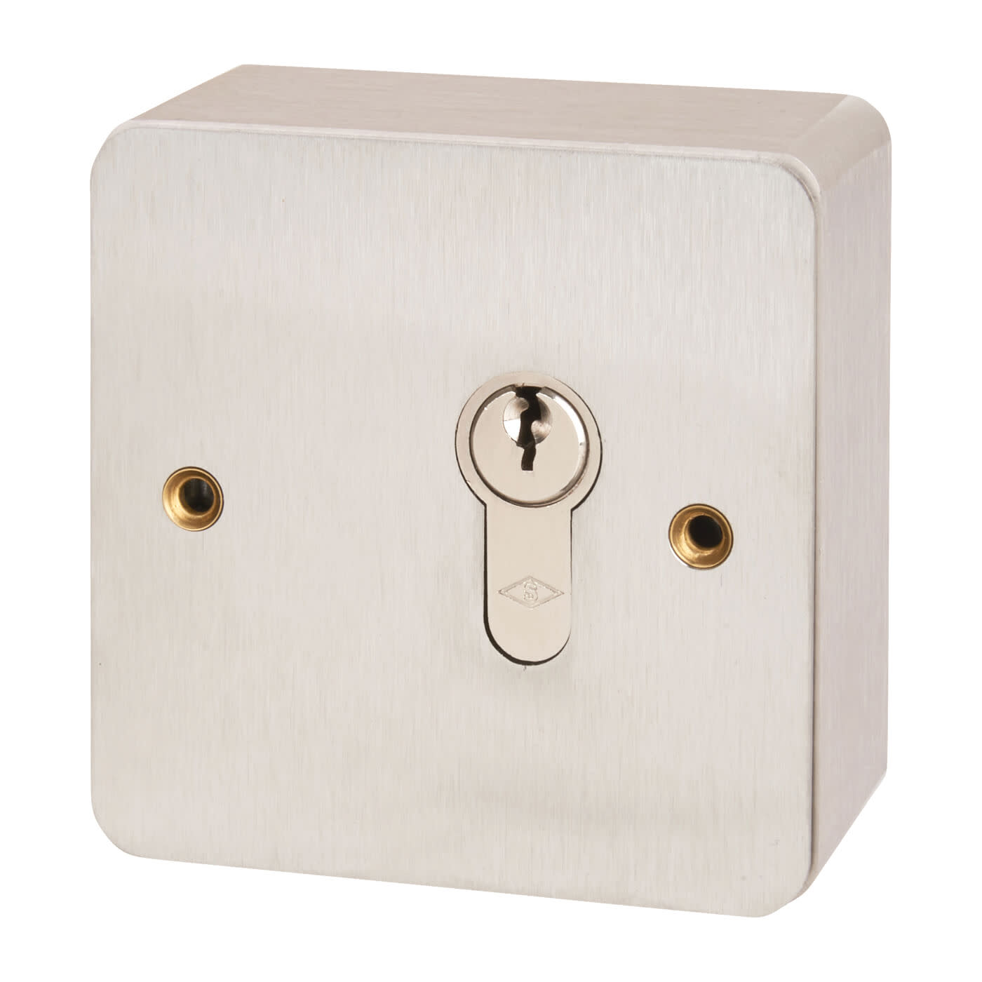 Key Switch - 85 x 85mm - Stainless Steel)