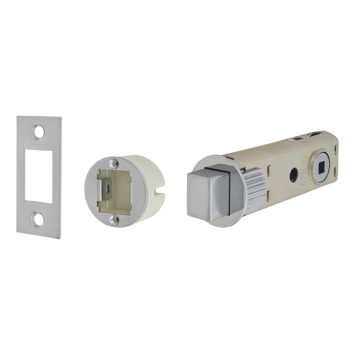 UNION JFL27 FastLatch Tubular Push-Fit Bathroom Deadbolt
