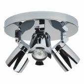 35W Bathroom Spotlight - 3 Lights - Polished Chrome)