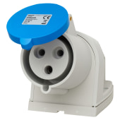 Cee Norm  32A 2 Pin and Earth Surface Socket - Blue)