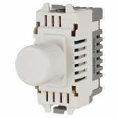 BG 400W 2 Way Push Dimmer Grid Module - White)