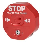 STI Emergency Exit Stopper - Red)