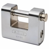 ABUS Series 92 Steel Shutter Padlock - 80mm - Keyed To Differ)