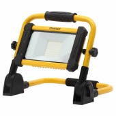 Stanley 24W LED Rechargeable Foldable Work Light - Yellow/Black)
