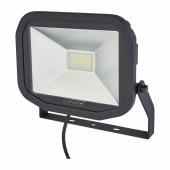 Luceco 38W 5000K LED Slimline Floodlight - Black)