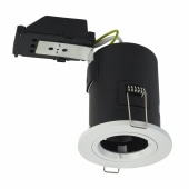 Luceco Fire Rated Downlight - IP20 - White)