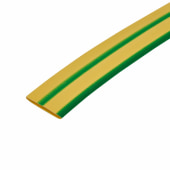 12.7mm Heat Shrink - Green/Yellow)
