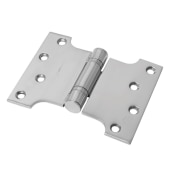 Enduro Max Parliament Hinge - 102 x 75 x 127 x 3.5mm - Polished Stainless Steel - Pair)