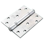 Enduro Triple Knuckle Thrust Hinge - 125 x 102 x 3.5mm - Polished Stainless Steel - Pair)