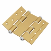Architectural Double Action Spring Hinge - 120mm - Gold)